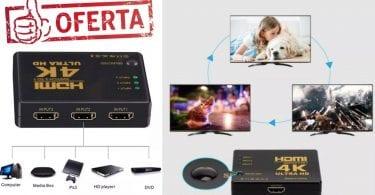 oferta Conmutador HDMI Switch barato 1 SuperChollos