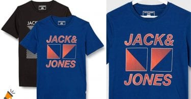 oferta pack camisetas jack jones baratas SuperChollos