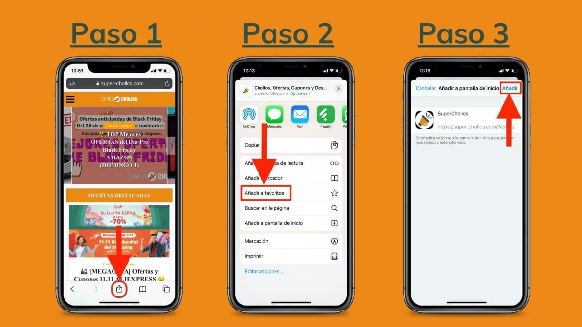 Pasos para instalar la app de superchollos en ios iphone apple scaled SuperChollos