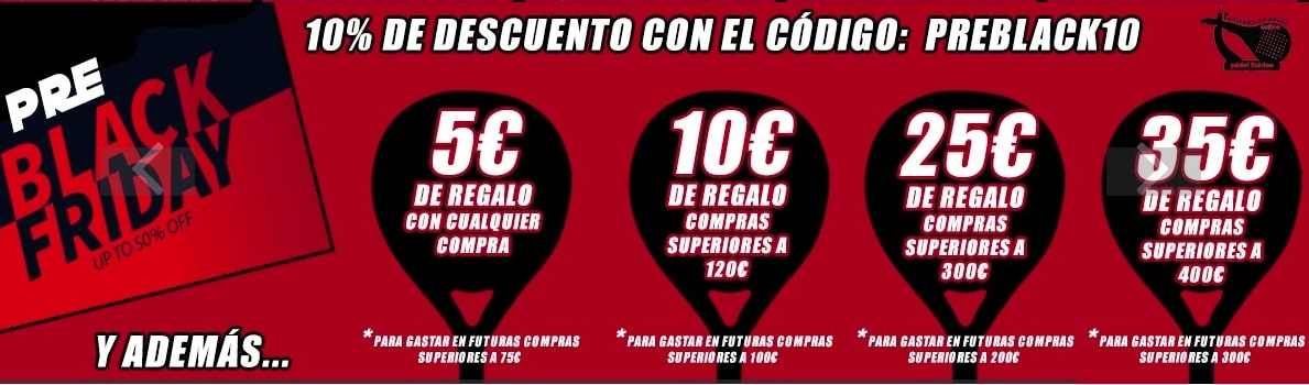 Outlet Padel Ibe%CC%81rico SuperChollos