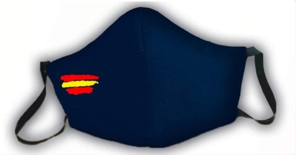 Mascarilla protectora bandera Espan%CC%83a barata SuperChollos