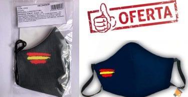 oferta mascarilla bandera espan%CC%83a barata SuperChollos