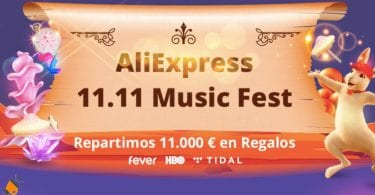 AliExpress 11.11 Music Fest SuperChollos