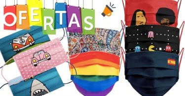 ofertas amazon mascarillas reutilizables baratas SuperChollos