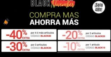 ofertas black november magic outlet SuperChollos