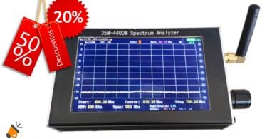 oferta Analizador de espectro barato SuperChollos