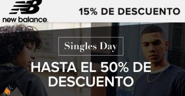 ofertas singles day new balance SuperChollos