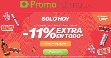 ofertas singles day promofarma SuperChollos