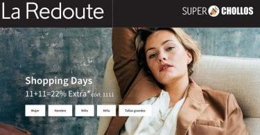 oferta Shopping Days en La Redoute SuperChollos