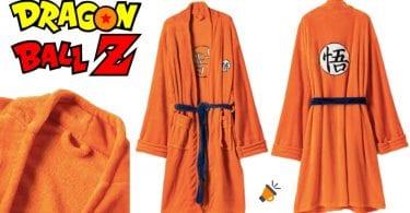 oferta Albornoz de Dragon Ball barato SuperChollos