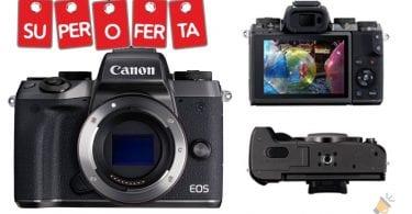 oferta Canon EOS M5 barata 1 SuperChollos