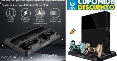 OFERTA Zacro Soporte Vertical PS4 barato SuperChollos