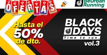 oferta Black Days BeUrbanRunning SuperChollos