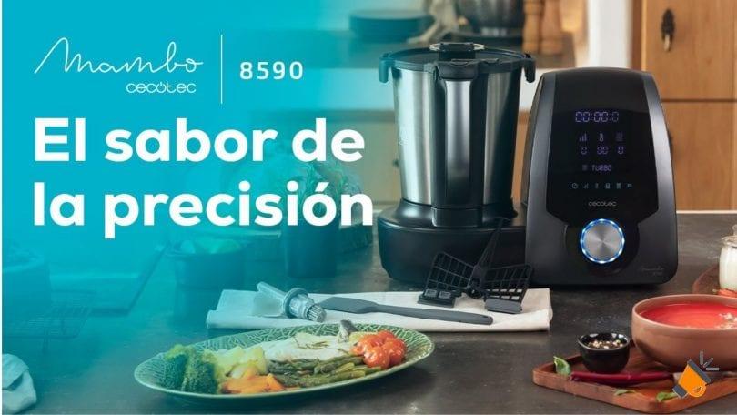 oferta Robot cocina Cecotec Mambo 8590 barato SuperChollos
