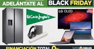 black friday el corte ingles SuperChollos