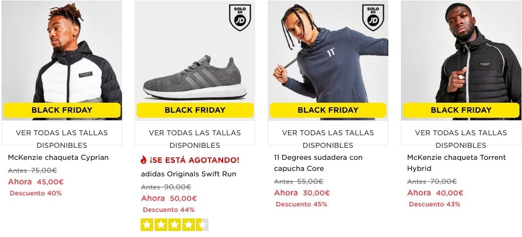 Black Friday JDSports5 SuperChollos