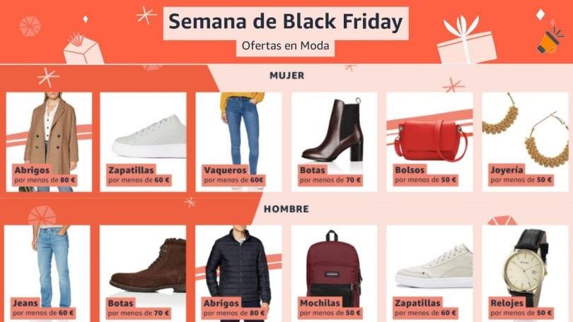 ofertas moda black friday amazon SuperChollos