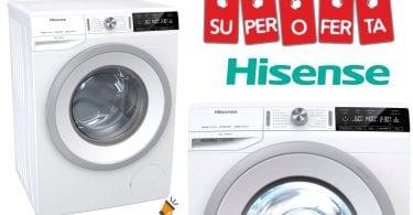 oferta Hisense WFGA8014V Lavadora barata SuperChollos