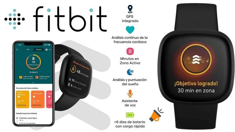 OFERTA Fitbit Versa 3 barato SuperChollos