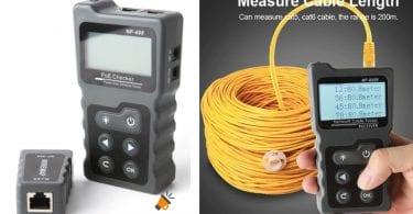 oferta Tester Cable De Red NF 8209 barato SuperChollos