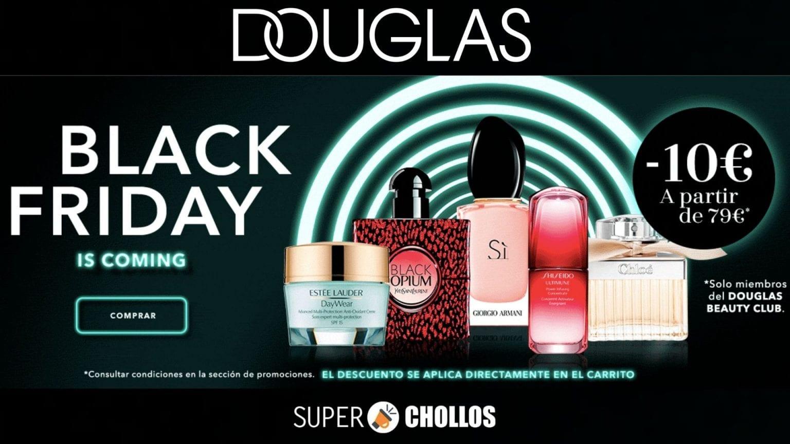 black friday douglas SuperChollos