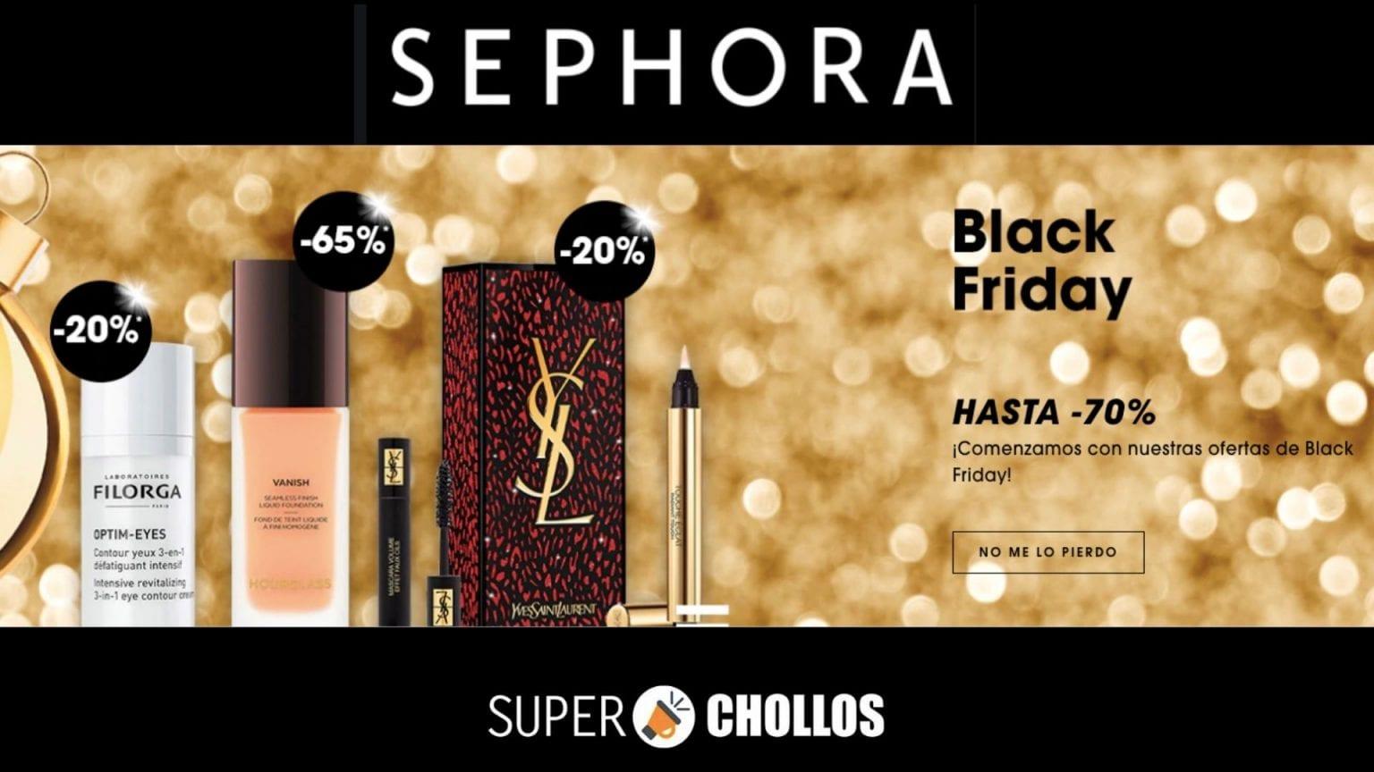 black friday sephora SuperChollos