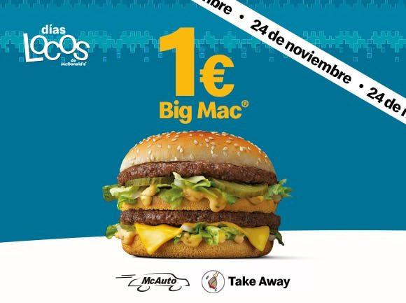 big mac 1 euros SuperChollos