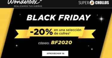 Black Friday Wonderbox SuperChollos