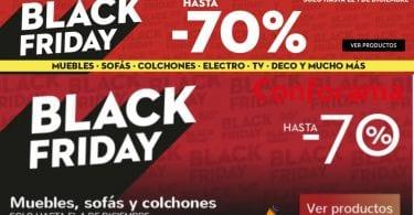 Black Friday Conforama SuperChollos