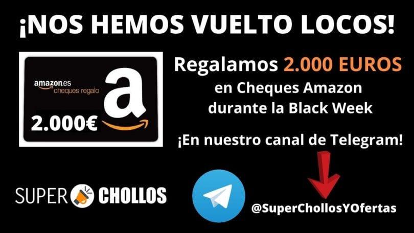 cheques regalo amazon gratis superchollos SuperChollos