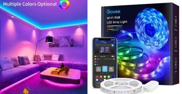 oferta Govee Tiras LED WiFi barata SuperChollos