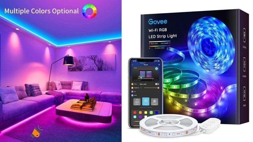 oferta Govee Tiras LED WiFi barata SuperChollos