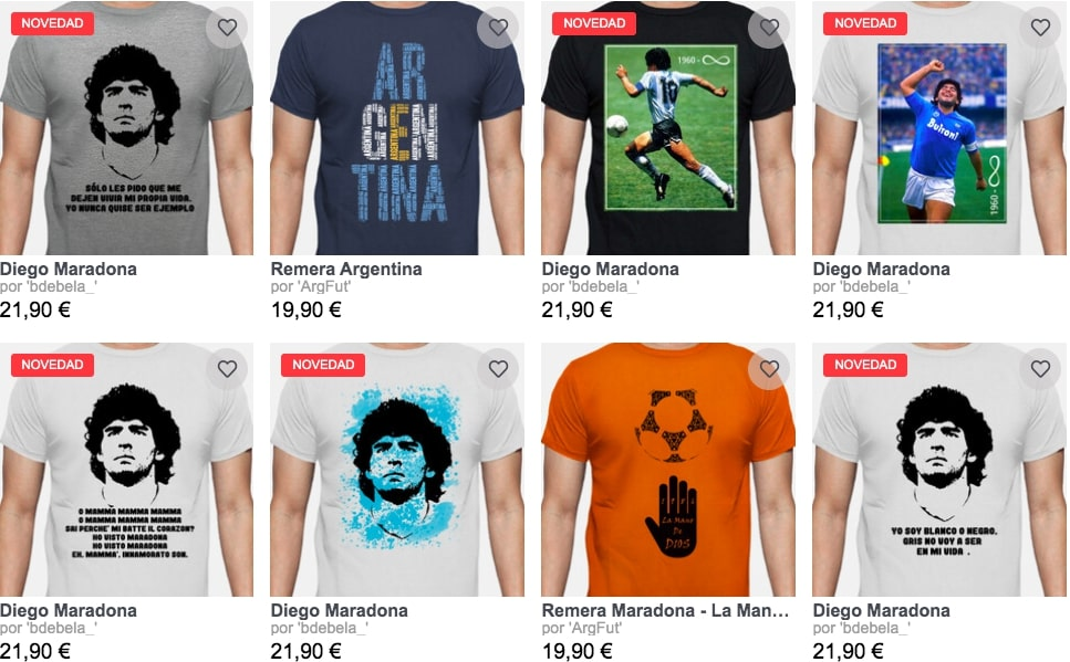 Camisetas Maradona La Tostadora1 SuperChollos