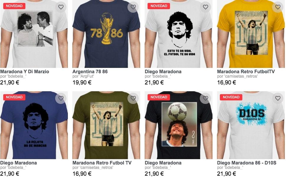 Camisetas Maradona La Tostadora3 SuperChollos