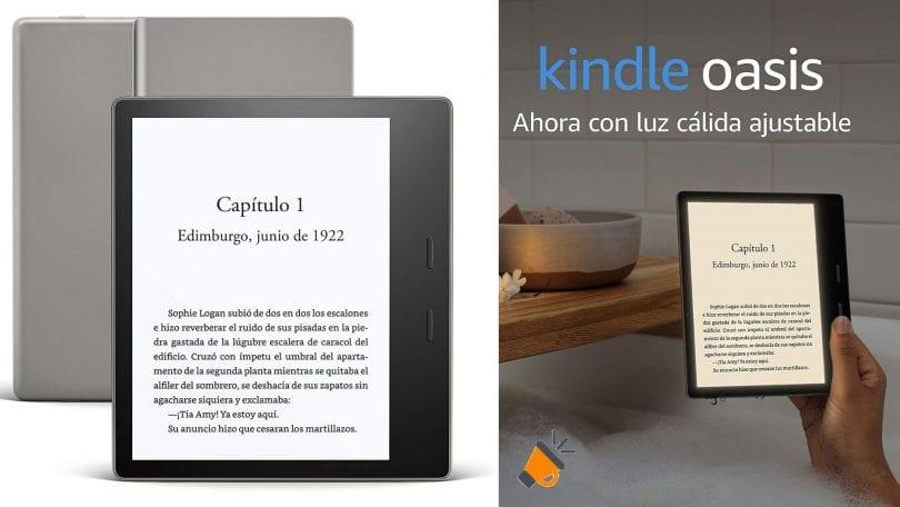 oferta Kindle Oasis barato SuperChollos
