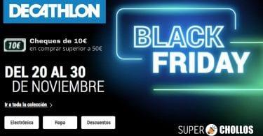 black friday decathlon SuperChollos