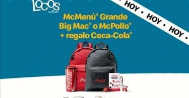 mochila gratis dias locos mcdonalds superchollos SuperChollos