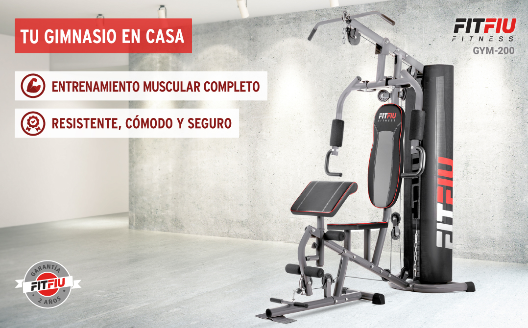 Ma%CC%81quina musculacio%CC%81n Fitfiu GYM200 barata SuperChollos