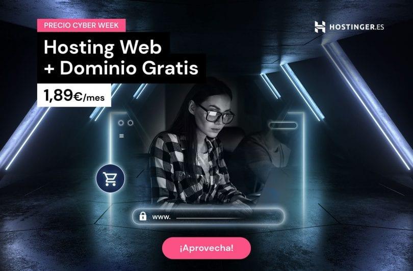 cyber week hostinger ofertas hosting barato superchollos SuperChollos