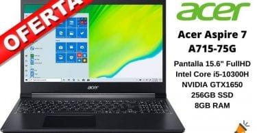 OFERTA Acer Aspire 7 A715 75G BARATO SuperChollos