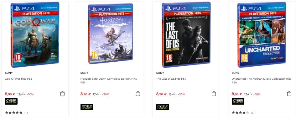 Juegos Playstation Hits baratos1 SuperChollos