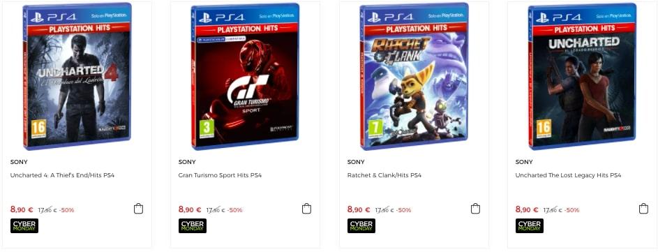 Juegos Playstation Hits baratos2 SuperChollos