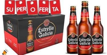 estrella galicia pack 24 botellines barato SuperChollos