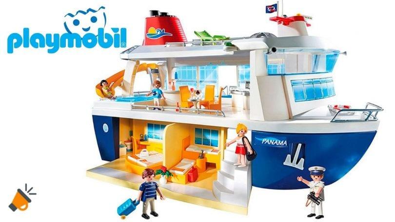 oferta Playmobil Crucero barato SuperChollos
