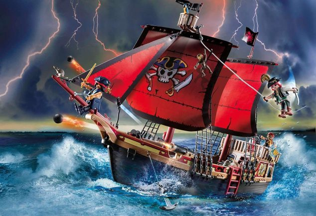 Barco Pirata Calavera Playmobil barato 2 SuperChollos