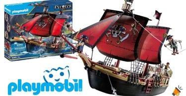 oferta Barco Pirata Calavera Playmobil barato SuperChollos