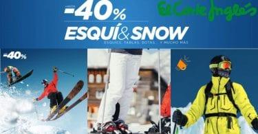 ofertas ropa esqui barata corte ingles SuperChollos