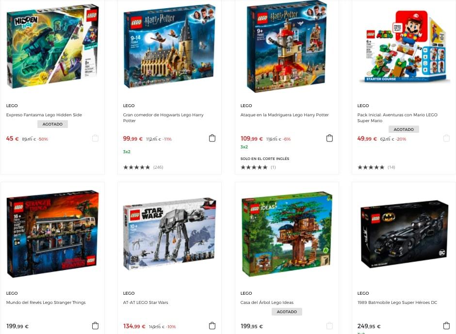Juguetes LEGO baratos en El Corte Ingle%CC%81s1 SuperChollos