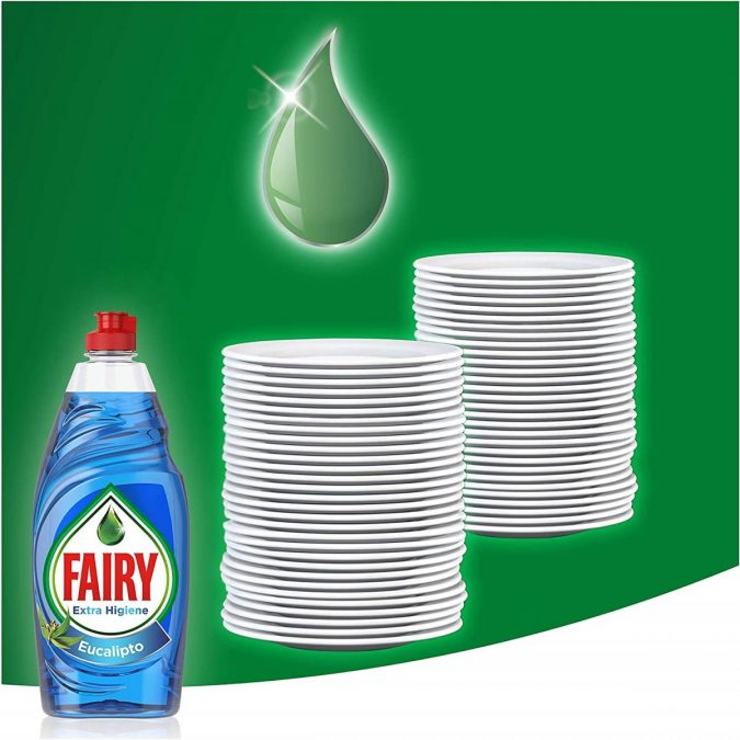 Fairy Extra Higiene Eucalipto barato scaled SuperChollos
