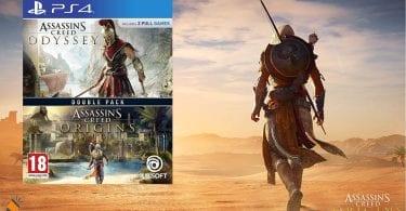 oferta Pack Assassins Creed barato SuperChollos